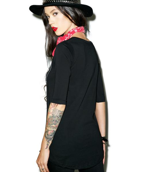 Disturbia Bound Swing Top