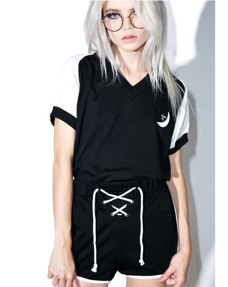 X Dolls Kill Land Sport Shorts