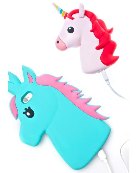 Pinkie Unihorn Power Bank