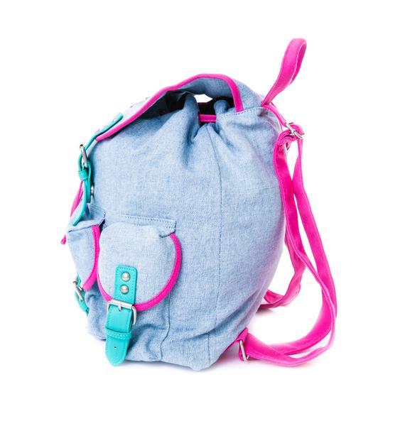Lazy Oaf Bits N' Pieces Buckle Bag
