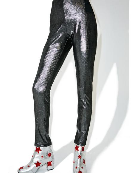 Shameless Metallic Leggings