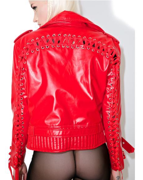 Ava's Badass Moto Jacket