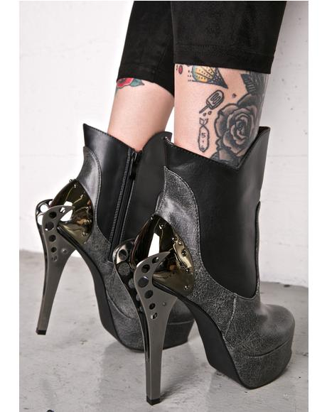 Nocturne Stiletto Booties
