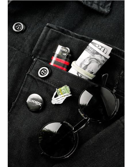 Bank Roll Pin
