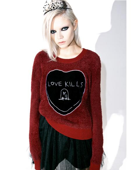 Love Kills Sweater