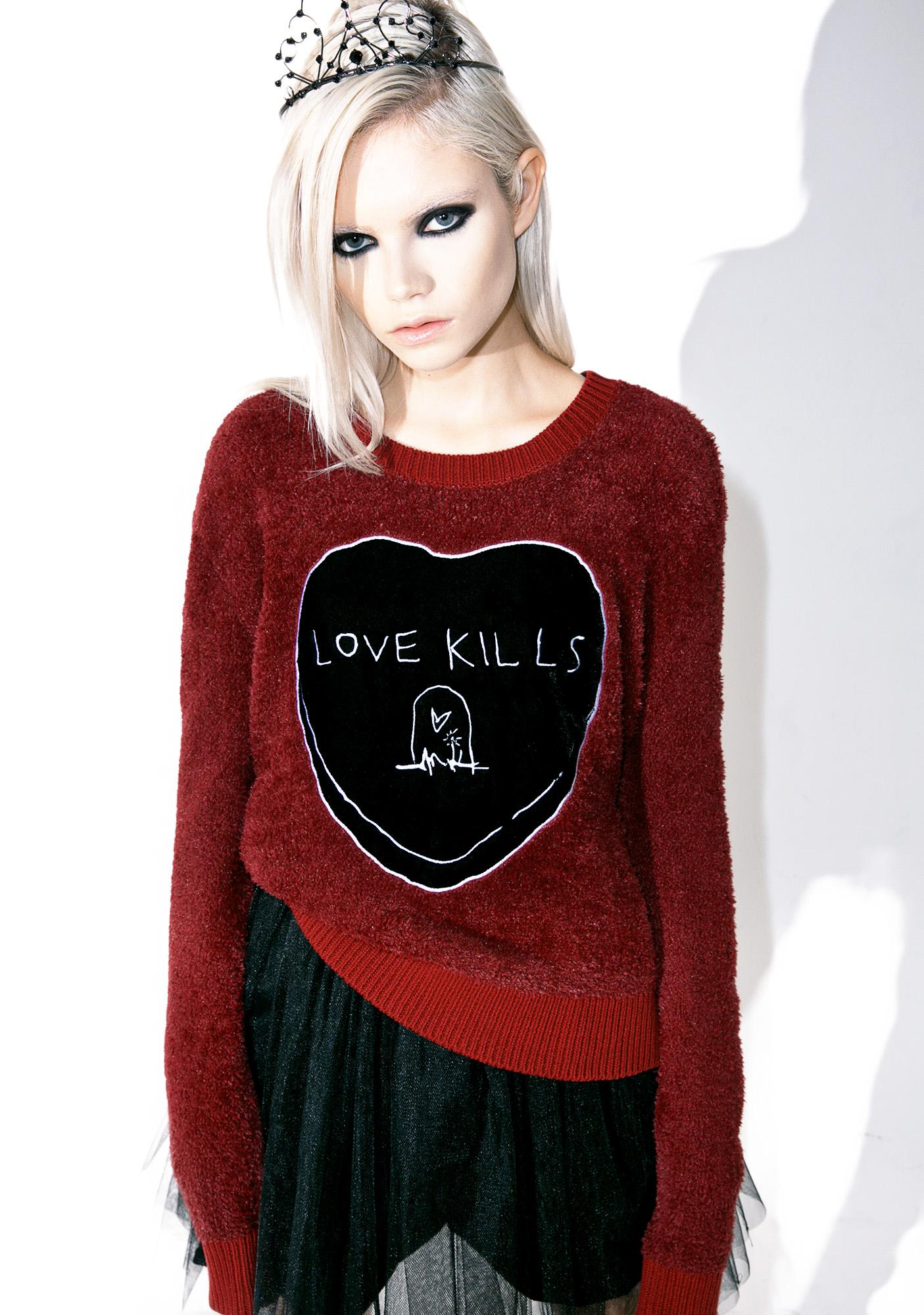 Iron Fist Love Kills Sweater