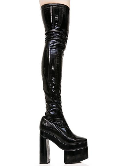 Belladonna Thigh-High Boots