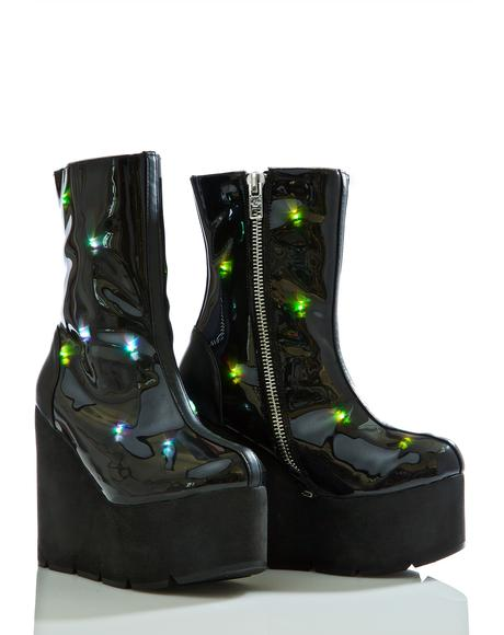Party Monster Light-Up Boots