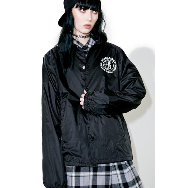 Rebel8 Worldwide Distro Coaches Jacket