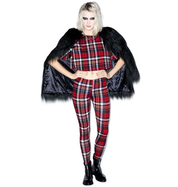 Plaid Gurl Club Legging