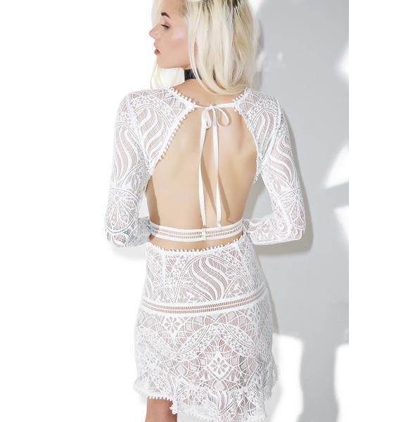 For Love & Lemons Emerie Cut Out Dress