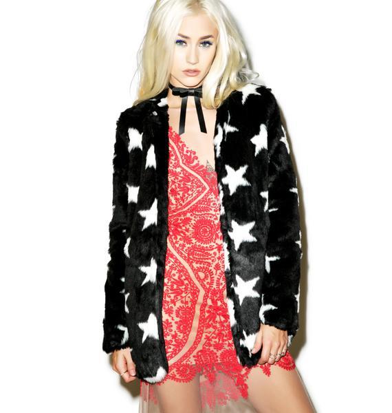 Born Free Faux Fur Jacket