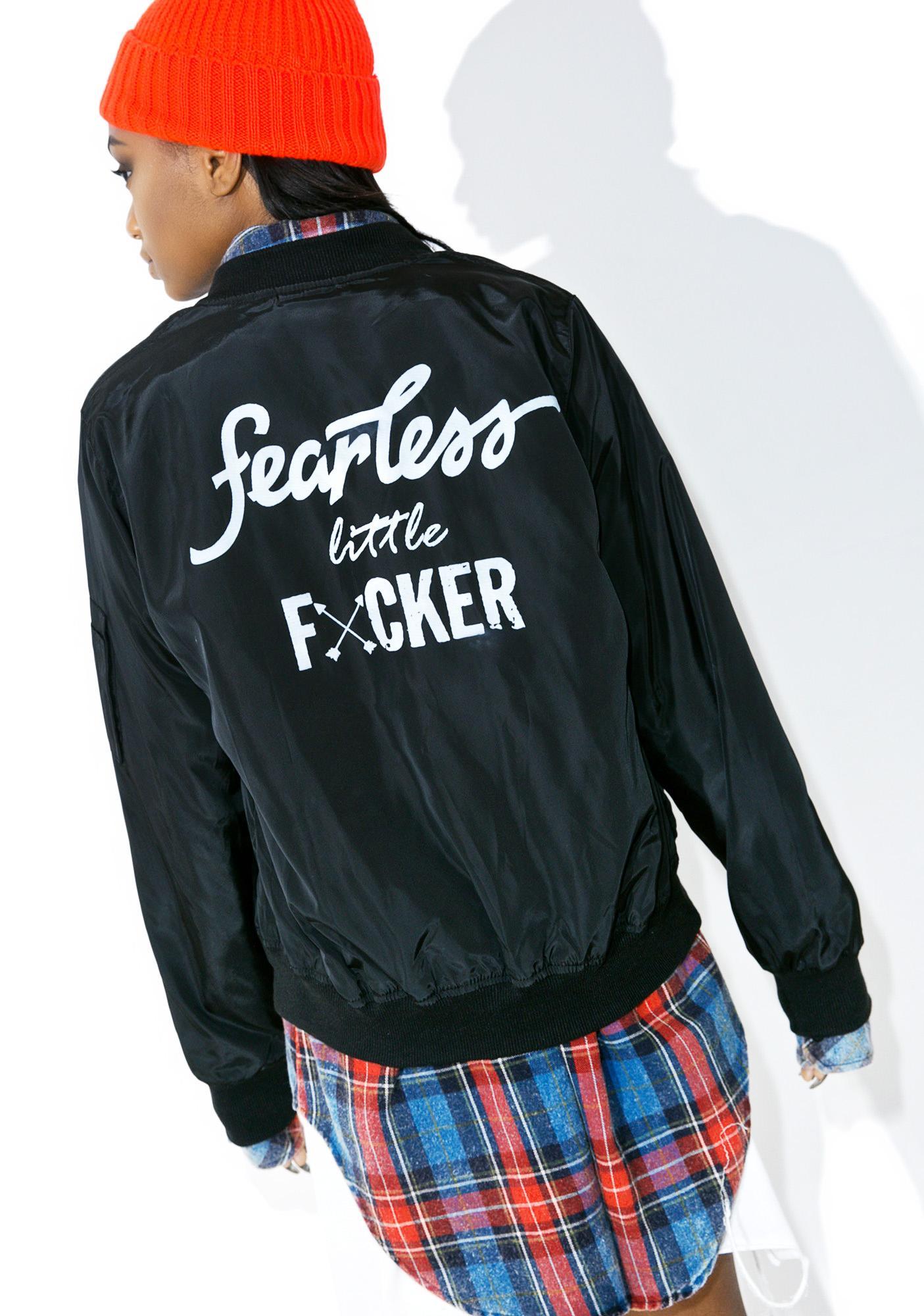 GirrlScout Fearless Bomber Jacket