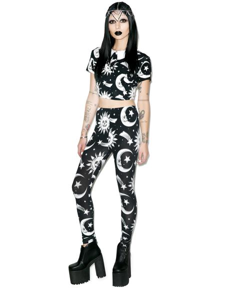 Cozmic Death Leggings