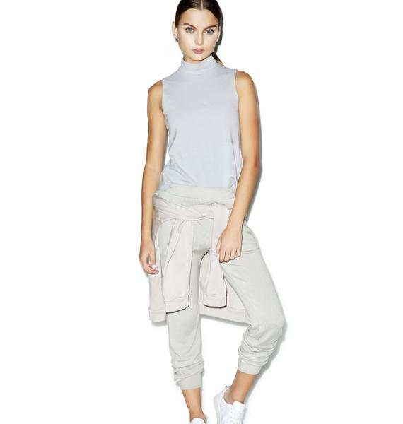 Groceries Apparel Lelani Mineral Mock Neck Top