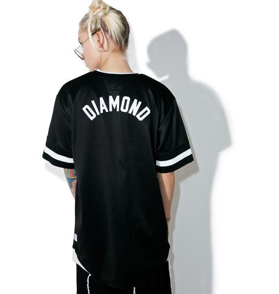 Diamond Supply Heavyweights Baseball Shirt