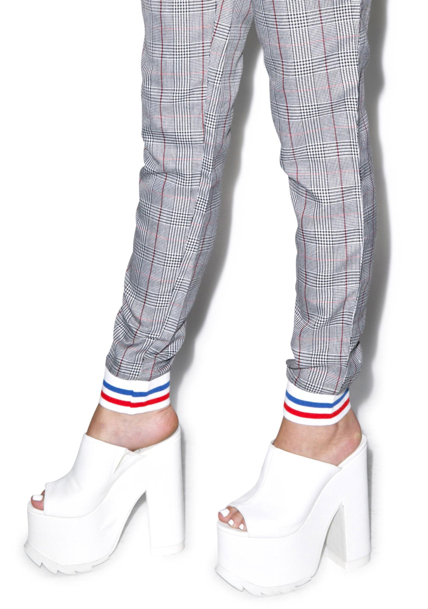 Tippi Plaid Trousers