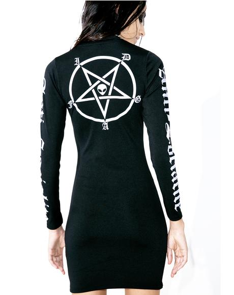 X Dolls Kill Anti-Socialite Bodycon Dress