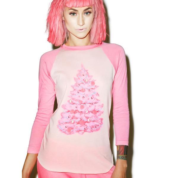 Wildfox Couture Jayne's Tree Lil' Bro Raglan