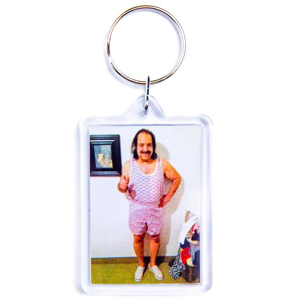HUF Ron Jeremy Breast Wishes Keychain