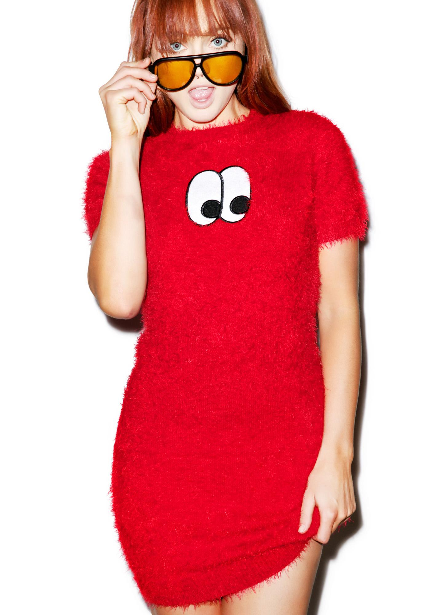 Lazy Oaf Eye Furface Dress
