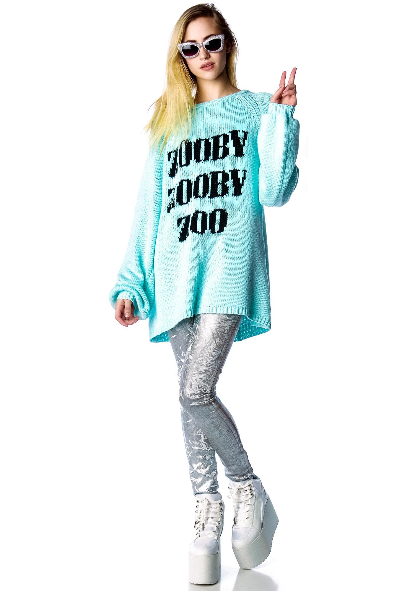 Wildfox Couture Zooby Zoo California Dream Sweater