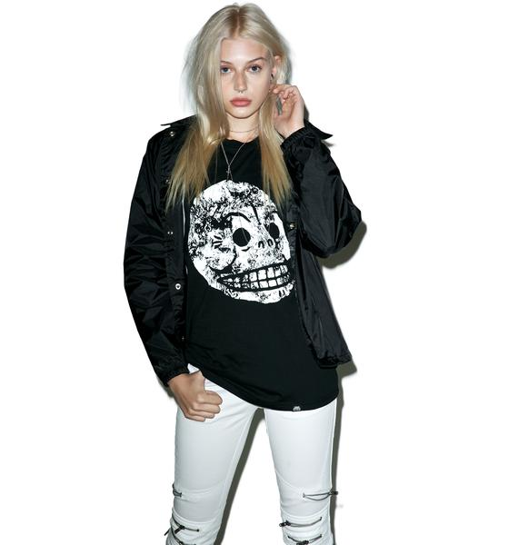 Cheap Monday Muscle Moon Skull Tank