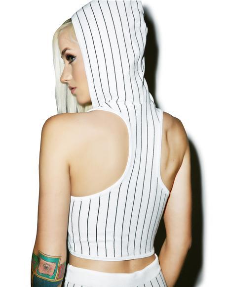 Brooke Hooded Crop Top