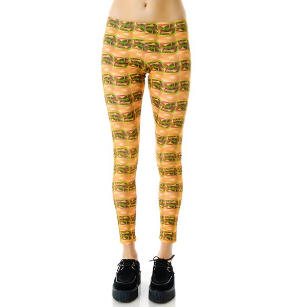 Zara Terez Cheeseburger Leggings