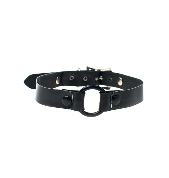 Club Exx Matte Me Down O-Ring Choker