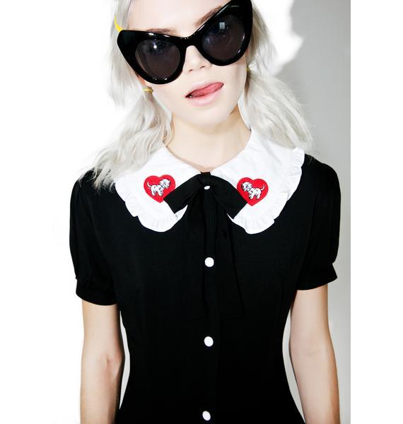 Lazy Oaf X Disney 101 Dalmatians Puppy Dress