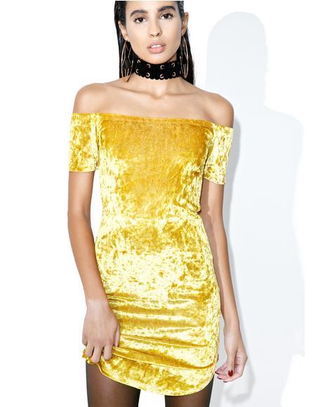 Belle Velvet Dress