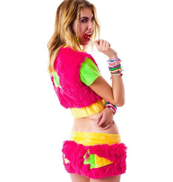 J Valentine I'm a Monster Skirt