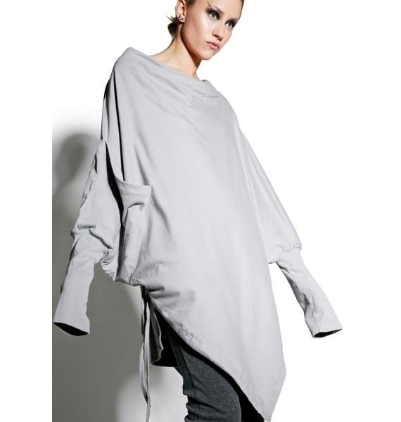 MNML Foggy Perception Asymmetric Top