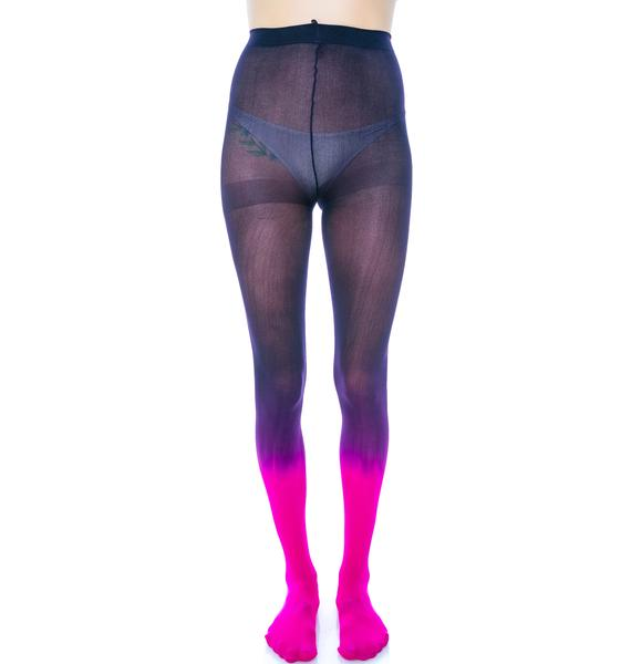 Come Fade Away Ombre Tights
