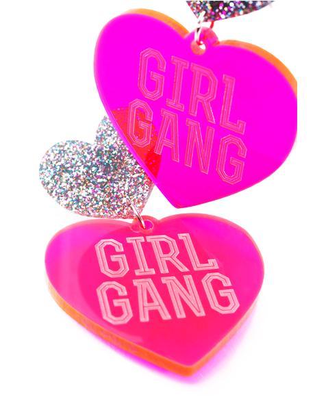 Hottie Girl Gang Earrings