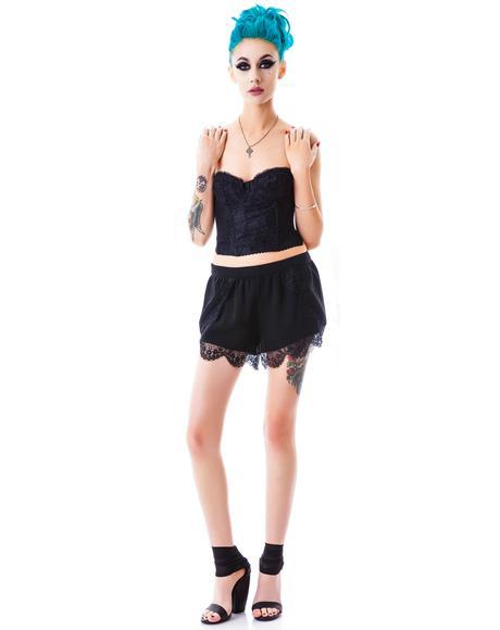 Alexis Lace Shorts