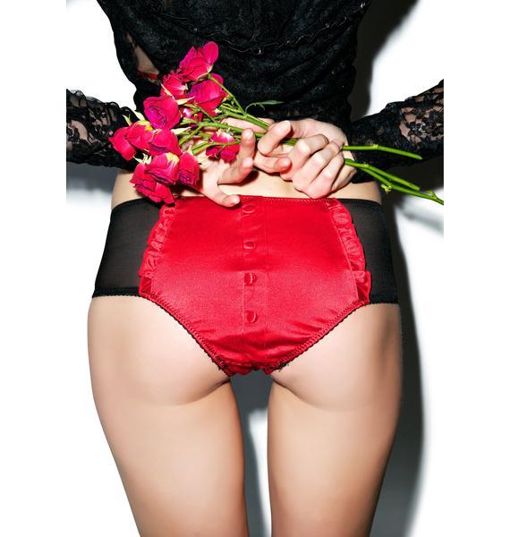 Tuxedo Tease Panties