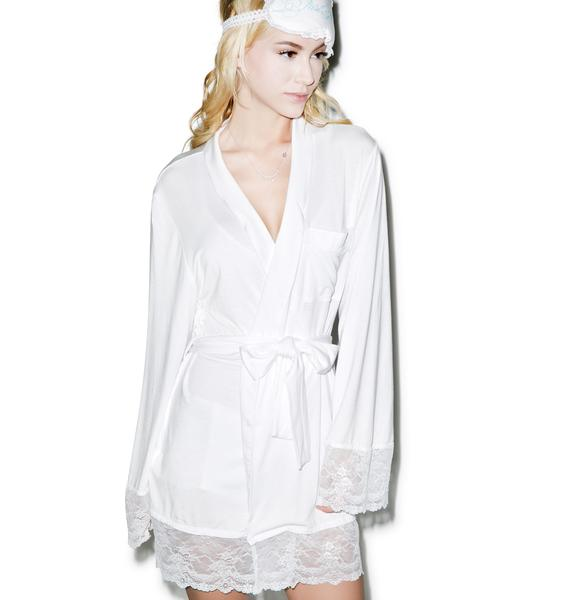 Wildfox Couture Here Comes The Bride Dressing Robe