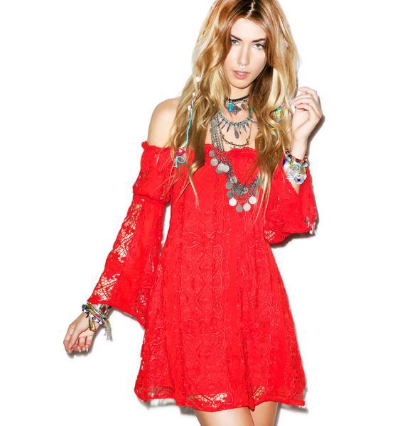 For Love & Lemons Garden Rose Dress