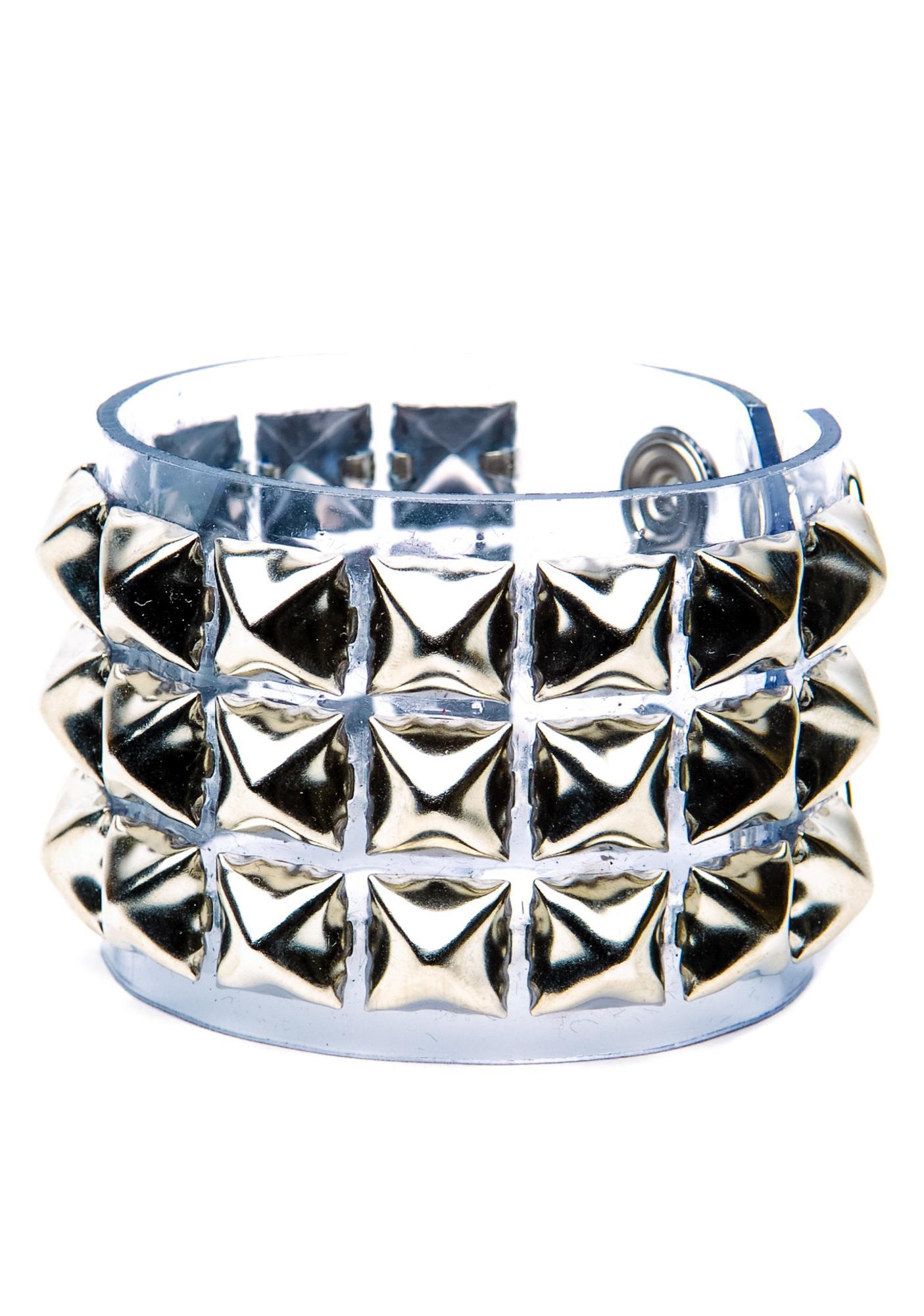 Club Exx Fukken Studded Bracelet