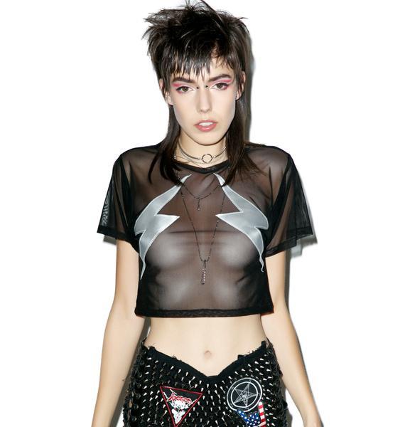 Flash Tits Sheer Shirt