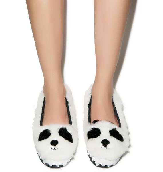 Irregular Choice Cuddles Slip-On Sneakers