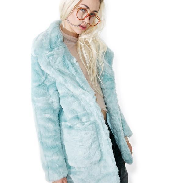 Glamorous Candy Craving Faux Fur Coat