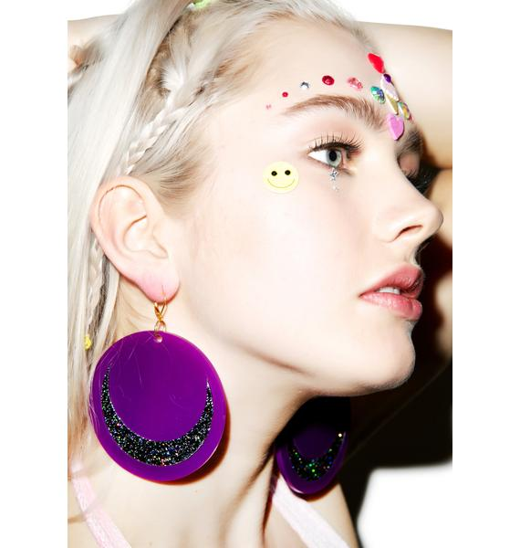 Marina Fini Luna Moon Earrings