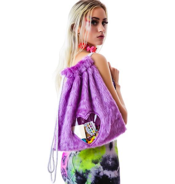 PLUR Love Drawstring Backpack