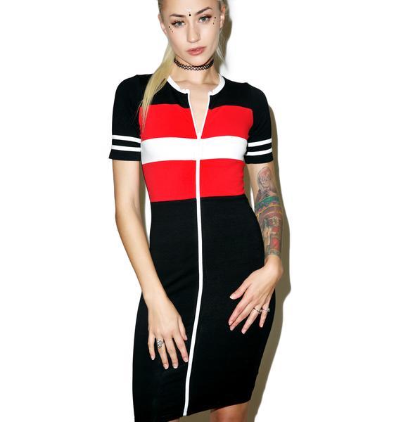 Valley High Sport Bodycon Dress