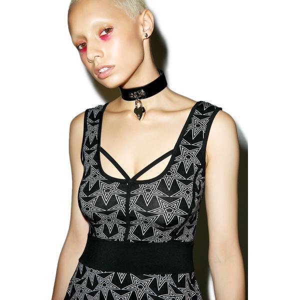 Killstar Sadie Star Skater Dress