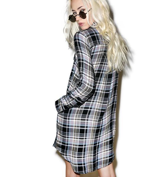 Tai Flannel Shirt Dress