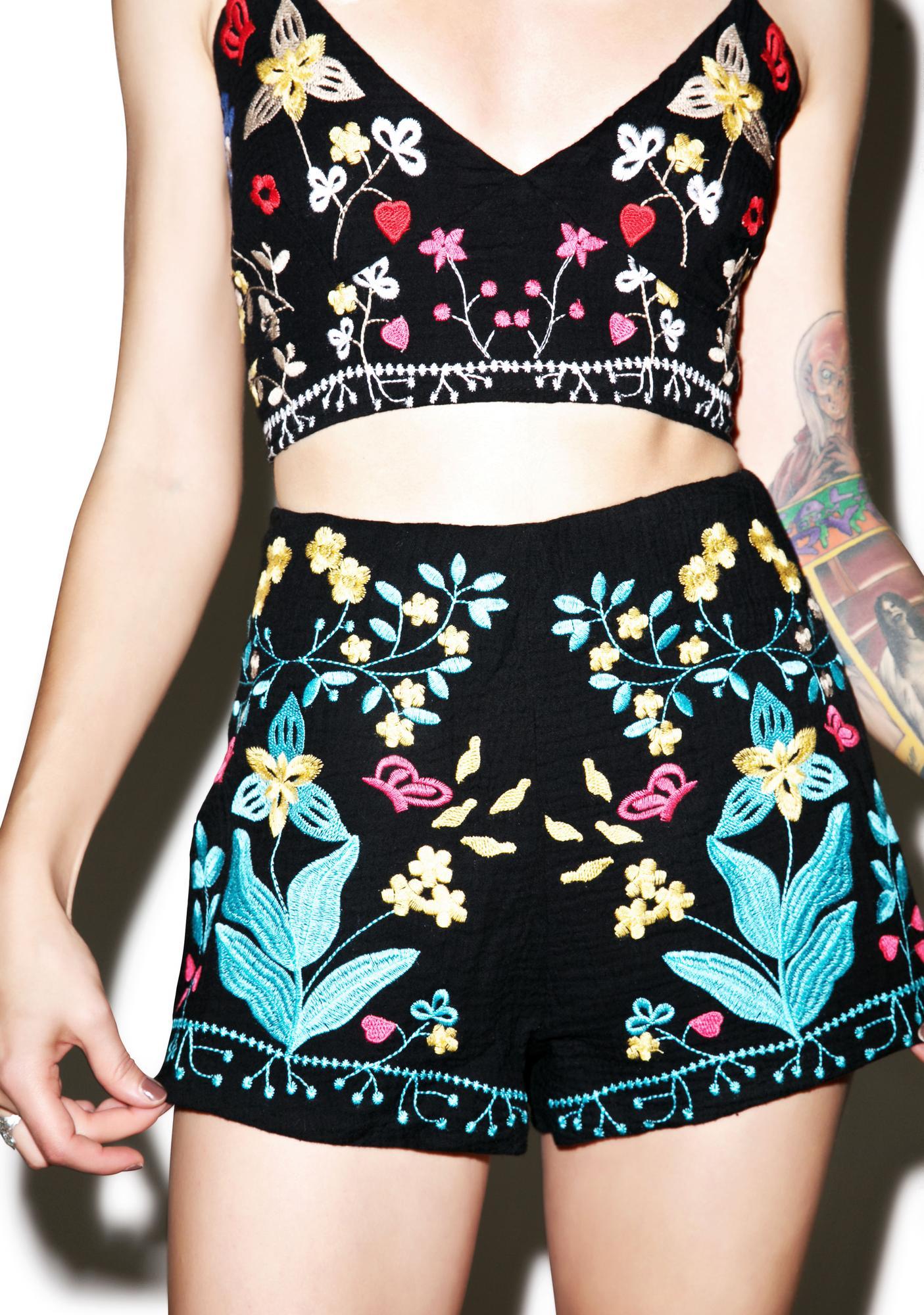 Night Bloom Shorts